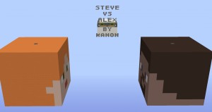 Descargar Steve Vs Alex para Minecraft 1.10