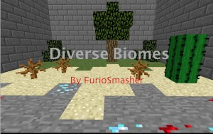 Descargar Diverse Biomes para Minecraft 1.8.8