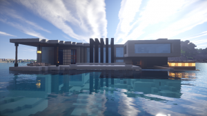 Descargar Modern Beach House para Minecraft 1.8