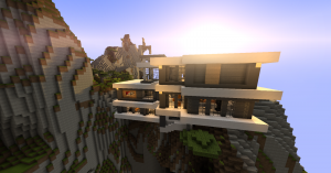 Descargar Modern Mountain House para Minecraft 1.8