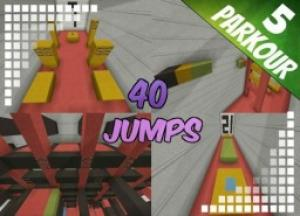 Descargar 40 Jumps para Minecraft 1.8