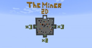 Descargar The Miner 2D para Minecraft 1.12.1