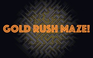 Descargar Gold Rush Maze para Minecraft 1.12.2