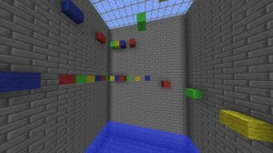 Descargar Multi-Colored Parkour: The Next Level para Minecraft 1.4.7