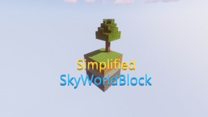 Descargar Simplified SkyWorldBlock para Minecraft 1.15