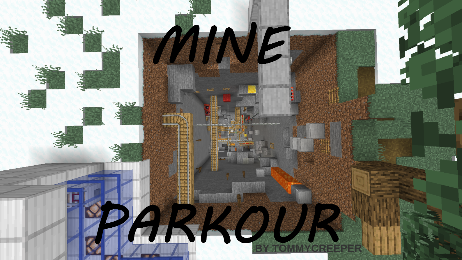 Descargar Mine Parkour para Minecraft 1.15.2
