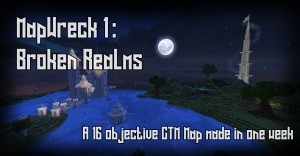 Descargar Mapwreck 1 - Broken Realms para Minecraft 1.16.2