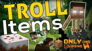 Descargar Troll Items para Minecraft 1.11.2